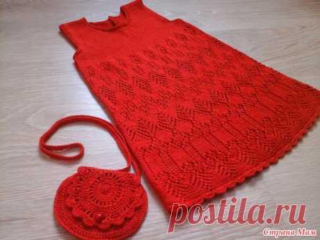 Три летних платьишка - Вязание для детей - Страна Мам