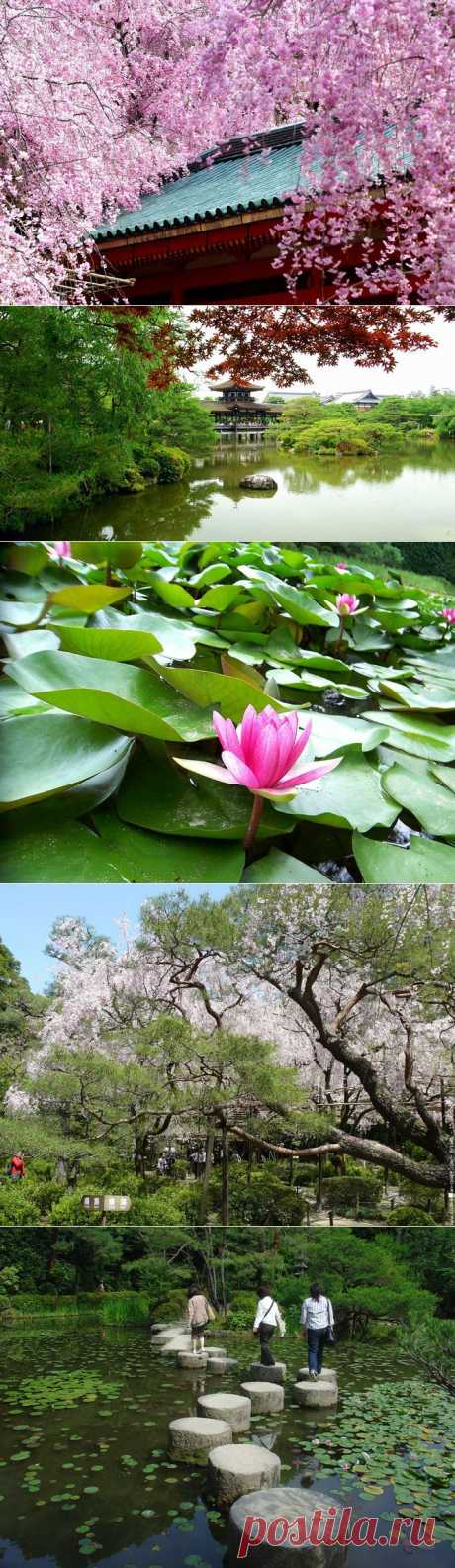 Японские сады храма Хэйан-джингу | Мой отпуск - делимся впечатлениями!