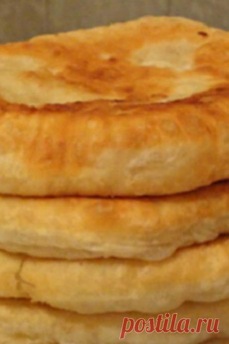 Пышные лепешки на кефире: быстрый рецепт необычайной вкуснятины! Подаю вместо хлеба. - Образованная Сова