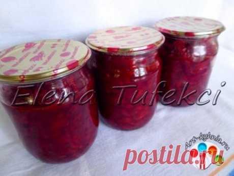 Салат из свеклы с овощами на зиму | 4vkusa.ru