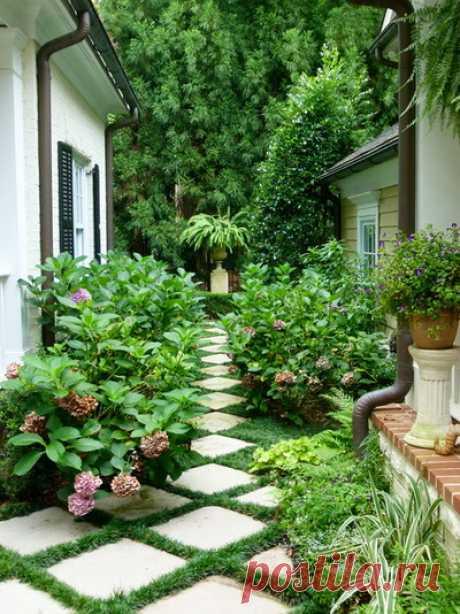 Мощение садовых дорожек, 93 варианта