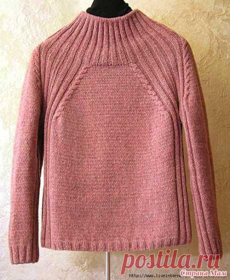 Пуловер. - Вязание - Страна Мам