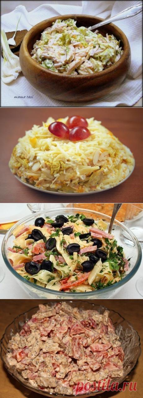 10 салатов с СЫРОМ!
