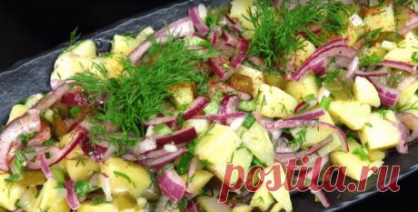 Деревенский салат - рецепт с фото пошагово