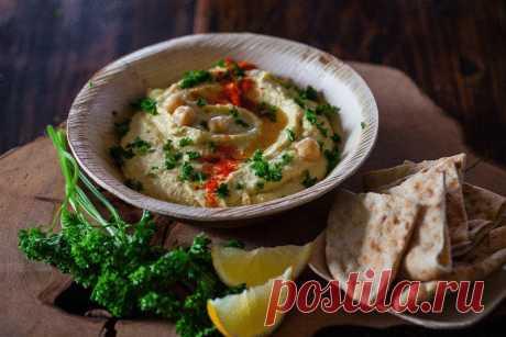 Хумус — 10  рецептов