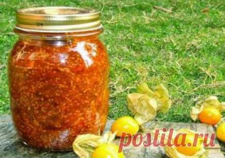 Варенье из физалиса (земляничного) - 5 рецептов на зиму