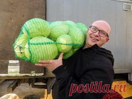 Меня научили КВАСИТЬ на рынке / Лучший рецепт капусты для ленивых!