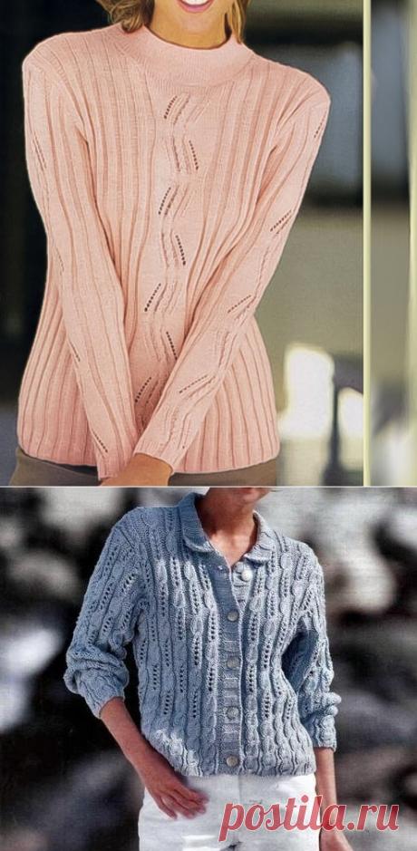 Красиво и оригинально. Вязание спицами | Рекомендательная система Пульс Mail.ru