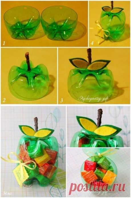 Что можно сделать из пластиковой упаковки