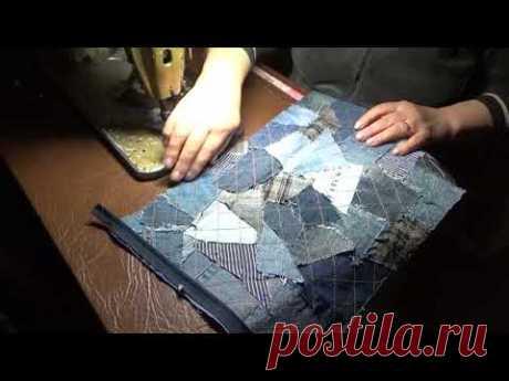 Пошив маленькой женской сумочки для нужных мелочей. Косметичка/Несессер/Пенал.