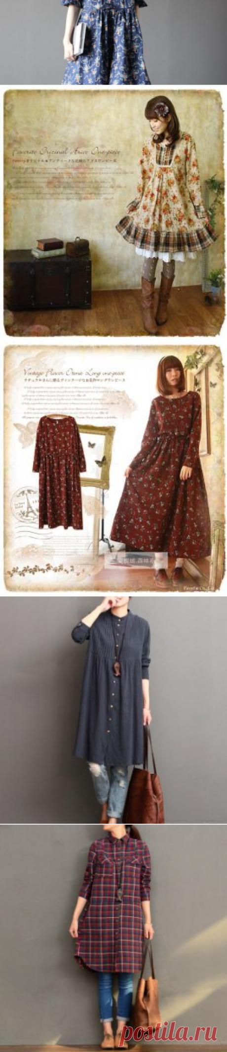 Выкройки платьев в стиле бохо (фото)