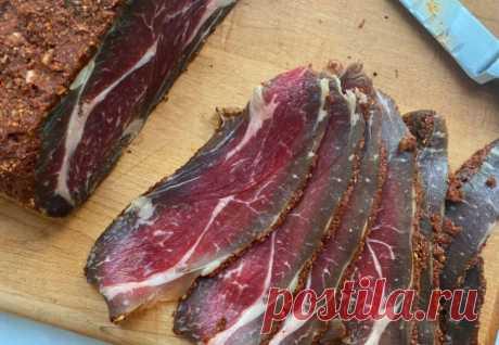 Подвесили мясо в холодильнике и получили настоящую бастурму - Steak Lovers - медиаплатформа МирТесен