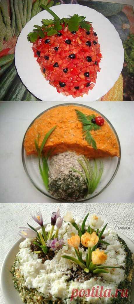 Праздничные салаты с курицей: готовим и оформляем