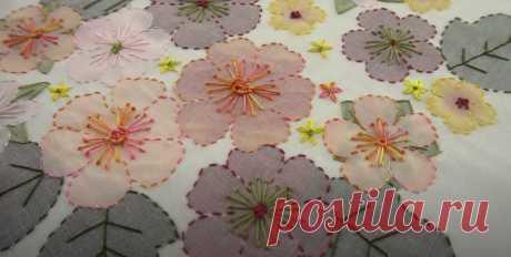 Мастер-класс: как использовать в вышивке искусственные цветы - Сам себе мастер - медиаплатформа МирТесен