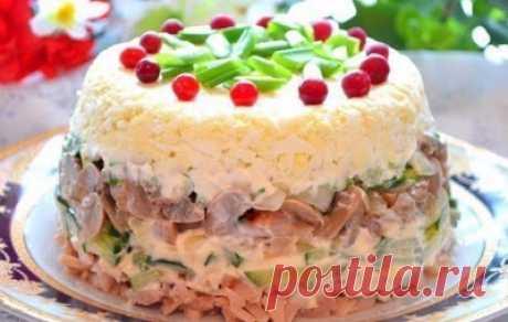 Salad pleasure volcano!