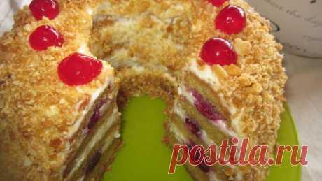 Как приготовить торт «Франкфуртский венок»? | Еда и кулинария