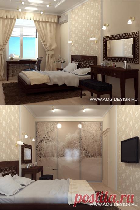 Дизайн интерьера квартиры на Кутузовском проспекте, Москва
