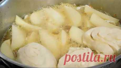 Штрудли с мясом, картошкой и капустой - Аппетитное сочетание, не правда ли?