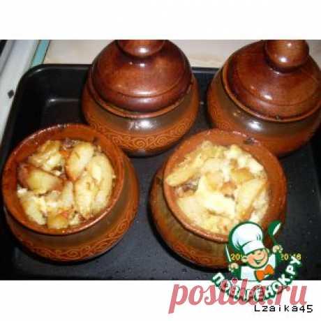 Жаркое по-домашнему в горшочках – кулинарный рецепт
