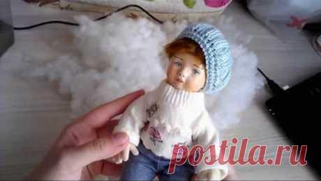 Как набивать куклу/ Плотная набивка авторской куклы/ How to stuff your doll