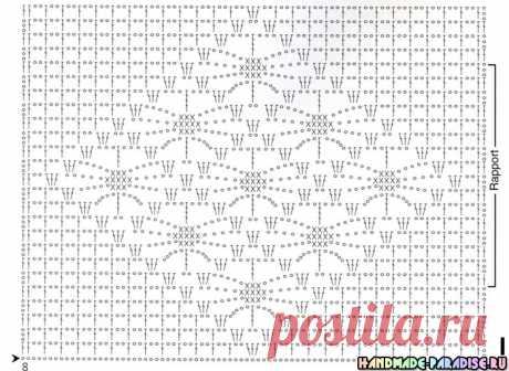 Скатерти, салфетки и подушки - схемы вязания крючком
