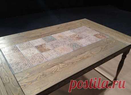 Декорирование старых столов | Наши дома