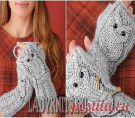 Lady Knits - вязание спицами и крючком
