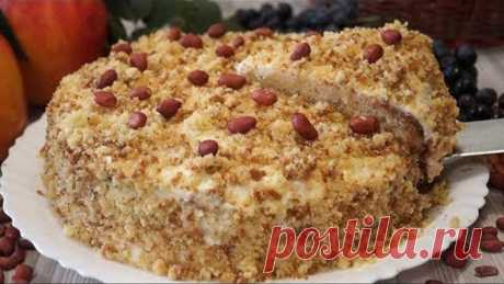 Tort Smetannik ágil. ¡La receta comprobado por los años, muy tierno y sabroso!