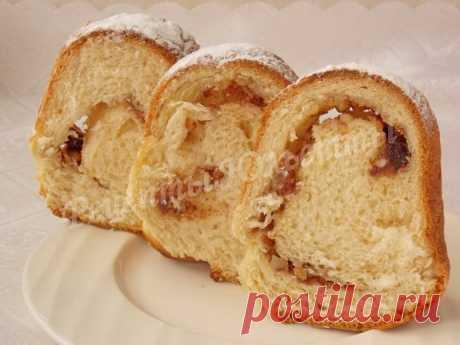 Австрийский Пасхальный кекс-рулет Райндлинг. Рецепт от Юльетты