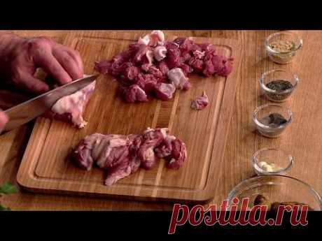 Песня грузинской кухни. Вып. 012. Суп чихиртма. Грибное чашушули