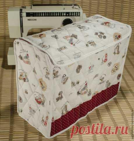 Стёганый чехол для швейной машины Diy Модная одежда и дизайн интерьера своими руками