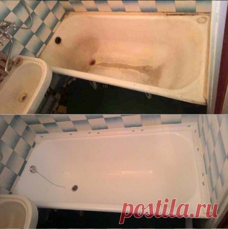 Как я экономно превратила свою старую ванну в новую: мой опыт и советы | Экономная Леди | Яндекс Дзен