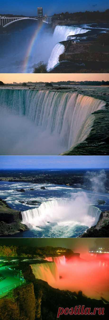 Ниагарский водопад : НОВОСТИ В ФОТОГРАФИЯХ  Я тут побывала. Такая мощь,красота,величие!
