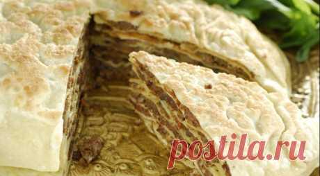 Юпка, узбекское блюдо, пошаговый рецепт с фото