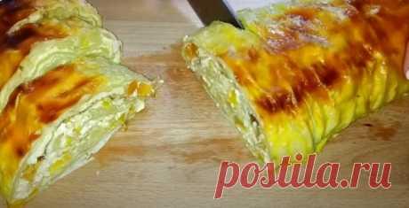 Смакота до чаю за 5 хвилин + випічка. Ніжний десерт з сиру, бананів і лаваша • журнал Коліжанка