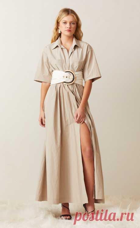 Какие платья сафари в моде: особенности стиля и актуальные модели