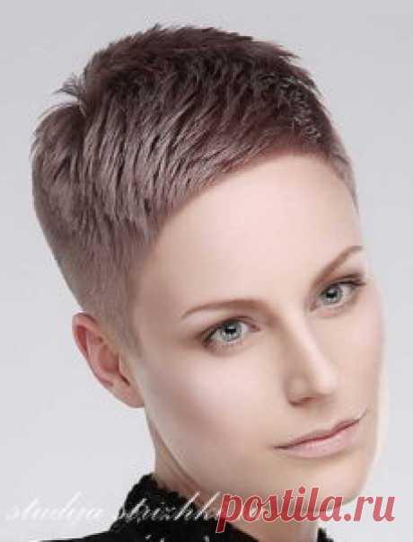 Стрижки на очень короткие волосы   Стрижки и Прически