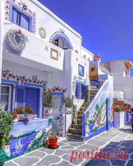 Цвета острова Китнос, Греция