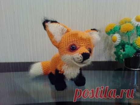 Лисенок Рыжик, ч.4. Little Fox Redhead, р.4. Amigurumi. Crochet. Вязать игрушки, амигуруми.