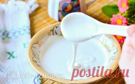 Стойкая белковая глазурь за 5 минут, пошаговый рецепт с фото