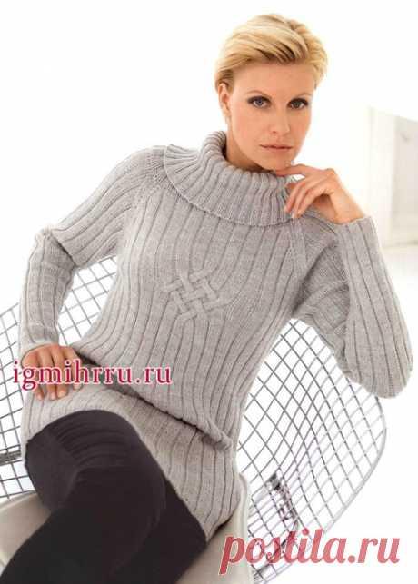 вязание спицами/пуловер - Самое интересное в блогах