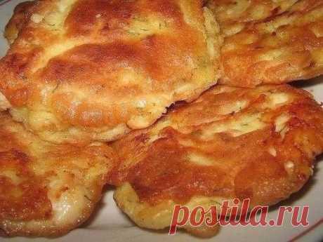 Куриные отбивные в кляре с сыром. — Sloosh – кулинарные рецепты