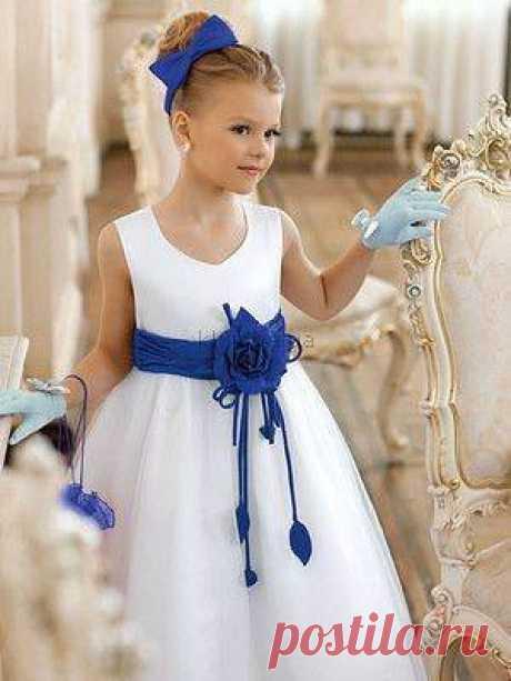 Праздничные платья для дочек или внучек. Подборка идей и выкроек. | Люблю Себя