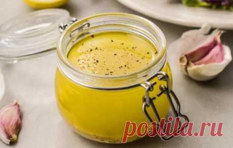 Рецепт заправки с лимоном и чесноком. Больше ничего не захотите