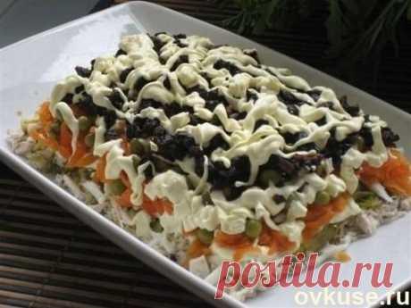 Рецепт этого салата будут выпрашивать все гости. Очень вкусный - Простые рецепты Овкусе.ру