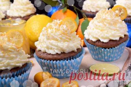 Капкейки с кумкватом и цитрусовым курдом — рецепт с фото пошагово. Порционные пирожные с начинкой из цитрусового курда. Вкусный десерт для праздничного стола!
