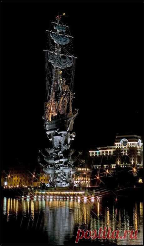 riccardo • Peter the Great  statue in Moscow, Russia.