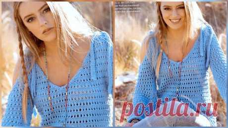 Женственные модели из журнала Sandra, разбор узора и, всем удачного дня!   Asha. Вязание и дизайн.🌶   Яндекс Дзен