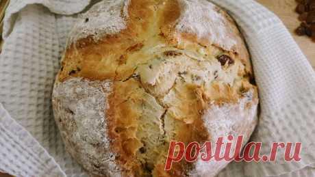 Ирландский содовый хлеб. Пошаговый рецепт с фото - InVkus