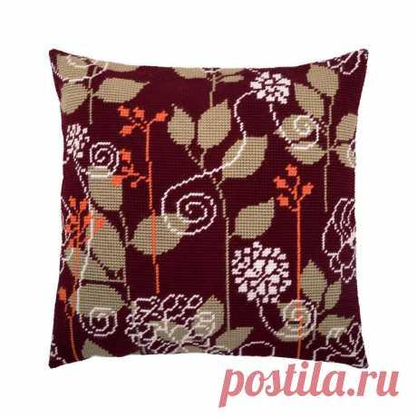 DIY Needlepoint Pillow Kit Night Field Tapestry | Etsy